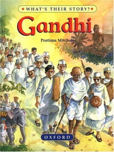 9780195214345: Gandhi: The Father of Modern India (What's Their Story)