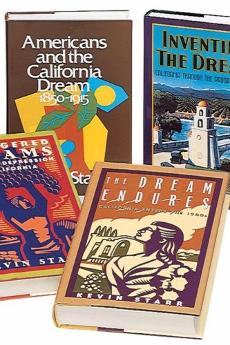 9780195214369: Kevin Starr's 5-volume History of California: Americans and the California Dream