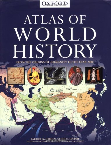 9780195215670: Atlas of World History