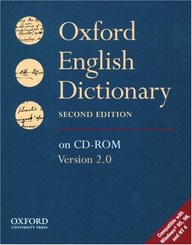 9780195215731: Oxford English Dictionary on CD-ROM (Windows)