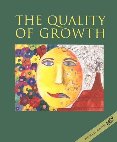 QUALITY OF GROWTH: Thomas, Vinod &