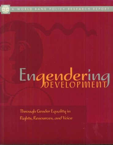 9780195215960: Engendering Development: Through Gender Equality in Rights, Resources, and Voice (Policy Research Reports)