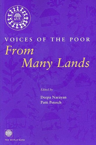 9780195216035: Voices of the Poor: From Many Lands (World Bank Publication)