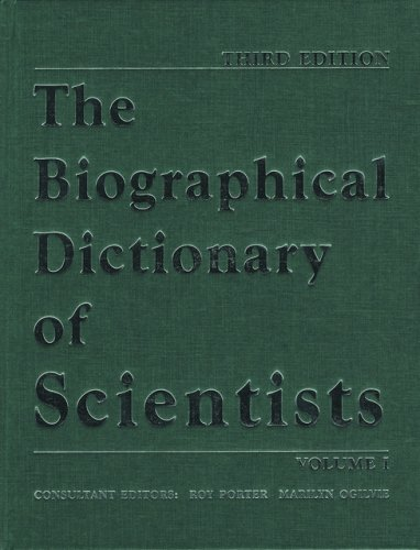 9780195216639: The Biographical Dictionary of Scientists: 2 Volume Set