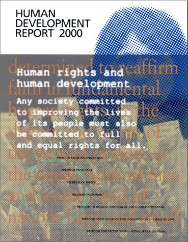Human Development Report, 2000: United Nations Development