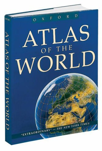 9780195216844: Atlas of the World (Atlas of the World, 8th ed.)
