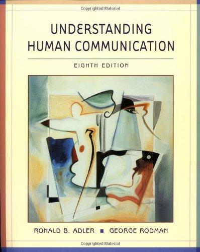 9780195219104: Understanding Human Communication