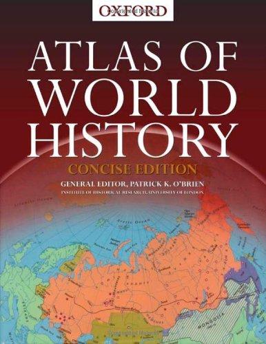 9780195219210: Atlas of World History