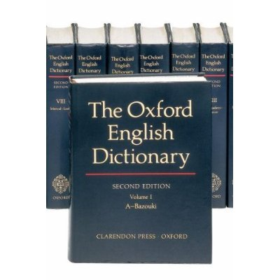 9780195219425: The Oxford English Dictionary (20 Vol. Set in 5 boxes)