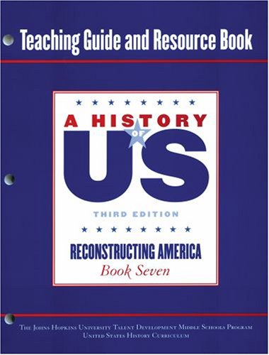 9780195221091: Johns Hopkins University Teaching Guide and Resource Book for Book Volume 7 Hofus (A History of US)