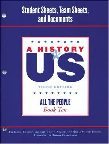 Johns Hopkins University Student Workbook for Book: Johns Hopkins University