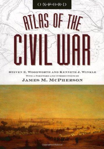 9780195221312: Atlas of the Civil War