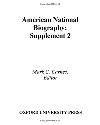 9780195222029: American National Biography: Supplement 2