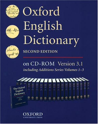 9780195222173: Oxford English Dictionary: Single User Version