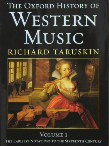 9780195222753: The Oxford History of Western Music, Vol. 6: Resources- Chronology, Bibliography, Master Index