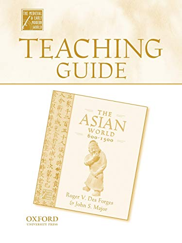 9780195223477: Teaching Guide To The Asian World, 600-1500 (Medieval & Early Modern World)