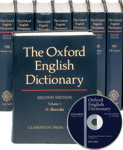 9780195223774: The Oxford English Dictionary Set