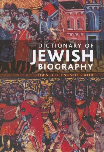 9780195223910: The Dictionary of Jewish Biography