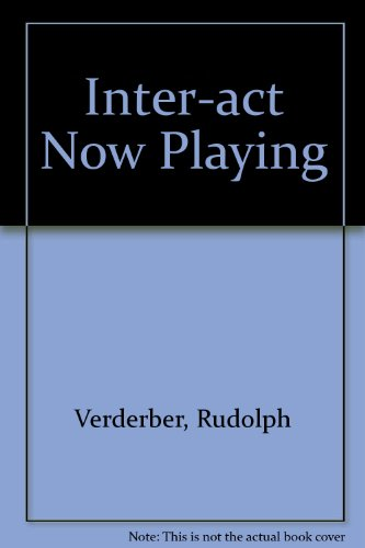 9780195224047: Inter-Act, Tenth Edition and Now Playing: Learning Communication through Film
