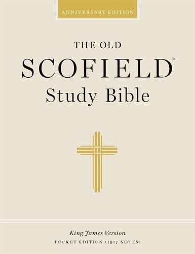 OLD SCOFIELD STUDY BIBLE POCKET EDITION ZIPPER DURADERA BLACK: 112RRLZ