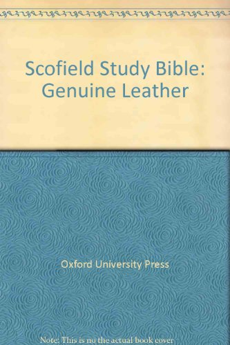 9780195272161: Scofield Study Bible: Genuine Leather