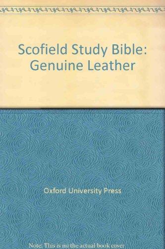 9780195272161: Scofield Study Bible: Genuine Leather