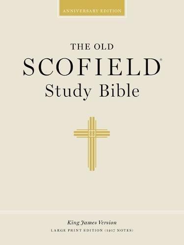 9780195272550: The Old Scofield® Study Bible, KJV, Large Print Edition (Burgundy Bonded Leather)