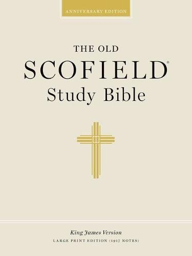 9780195273021: The Old Scofield® Study Bible, KJV, Large Print Edition (Black Genuine Leather)