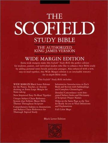 9780195273205: The Old Scofield® Study Bible, KJV, Wide Margin Edition