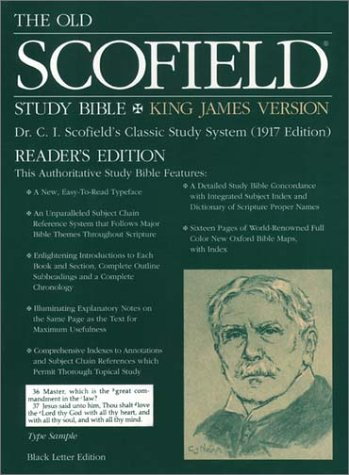 9780195274097: The Old Scofield® Study Bible, KJV, Reader's Edition: King James Version