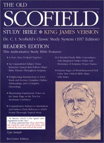 9780195274448: The Old Scofield® Study Bible, KJV, Special Reader's Edition: King James Version