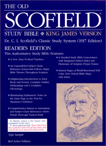 9780195274486: The Old Scofield® Study Bible, KJV, Reader's Edition: King James Version