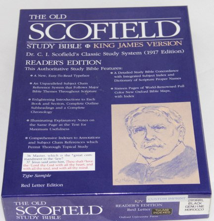 9780195274493: The Old Scofield® Study Bible, KJV, Reader's Edition: King James Version