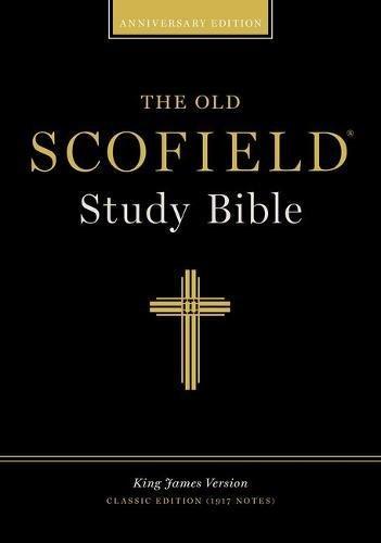 294RL BLACK INDEXED OLD SCOFIELD STUDY BIBLE: 294RL