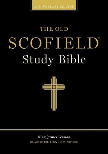 294RL BURG INDEXED OLD SCOFIELD STUDY BIBLE: 294RL