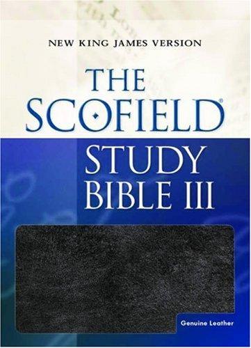 9780195275353: The Scofield Study Bible III: New King James Version, Black Genuine Leather
