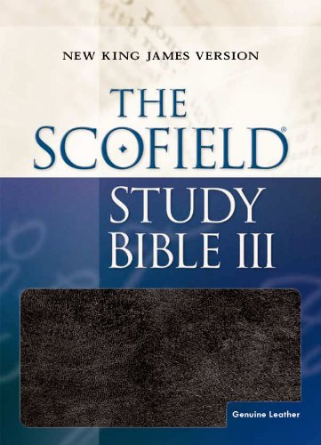 9780195275384: The Scofield Study Bible III: New King James Version, Burgundy Genuine Leather, Red Letter