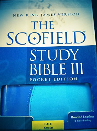 9780195275667: The Scofield Study Bible III: New King James Version, Sky/surf Bonded Leather 401rrl