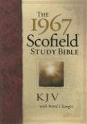 9780195277128: The 1967 Scofield Study Bible With Word Changes: King James Version, Burgandy Bonded Leather