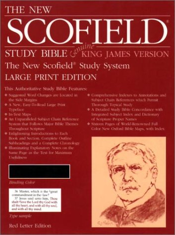 9780195277289: The New Scofield® Study Bible, KJV, Large Print Edition: King James Version