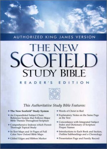 9780195277715: The New Scofield Study Bible, KJV, Reader's Edition: King James Version