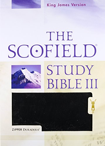 9780195278675: Holy Bible: King James Version, The Scofield Study Bible III, Duradera Zipper Black