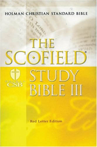9780195278903: The Scofield® Study Bible III, HCSB: Holman Christian Standard Bible