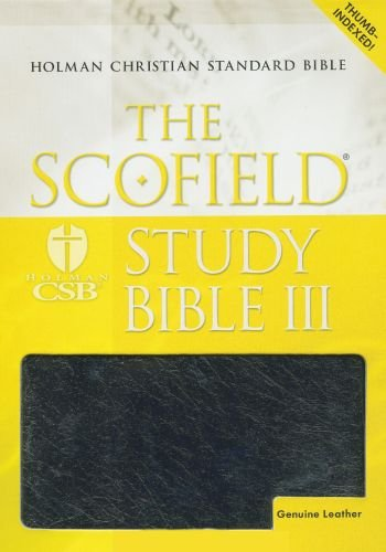 9780195278965: The Scofield® Study Bible III, HCSB: Holman Christian Standard Bible