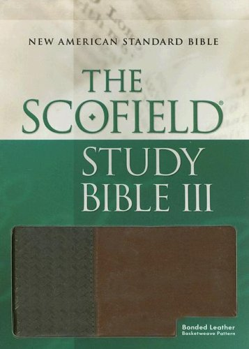 9780195279092: The Scofield® Study Bible III, NASB: New American Standard Bible