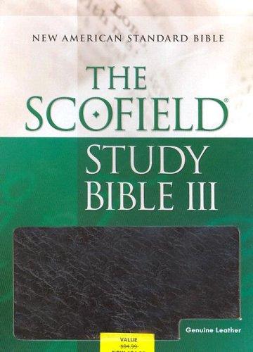 9780195279115: The Scofield® Study Bible III, NASB: New American Standard Bible