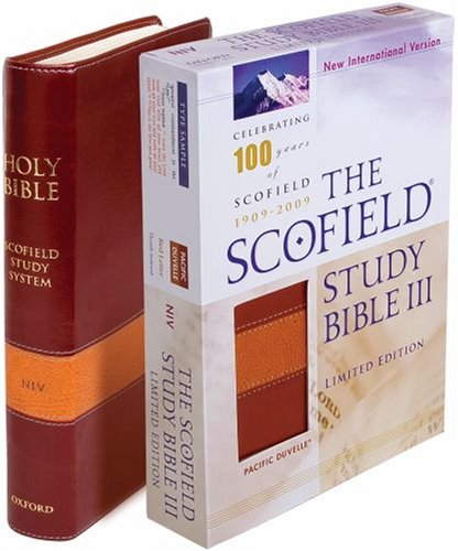 9780195279665: The Scofield Study Bible III: New International Version, Burgundy & Tan Pacific Duvelle Centennial Edition