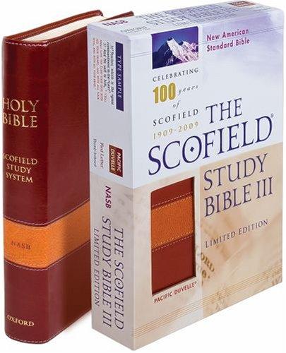 9780195279672: Scofield Study Bible III NASB, Centennial Edition