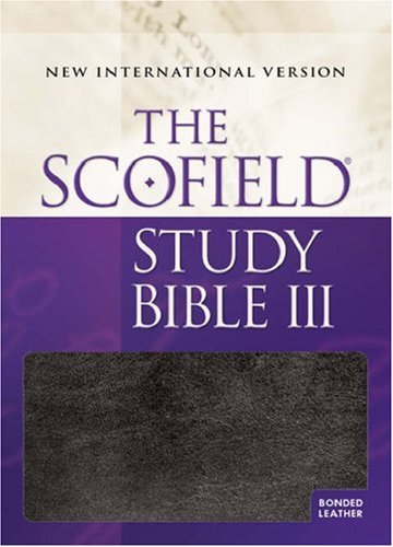 9780195280043: The Scofield Study Bible III: New International Version (Blue & Thumb-Indexed)