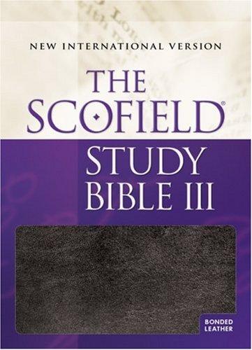 9780195280074: The Scofield Study Bible III: New International Version (Black/Burgundy Basketweave)